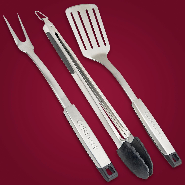 Amazon Com Cuisinart Cgs 333 Professional Grill Tool Set