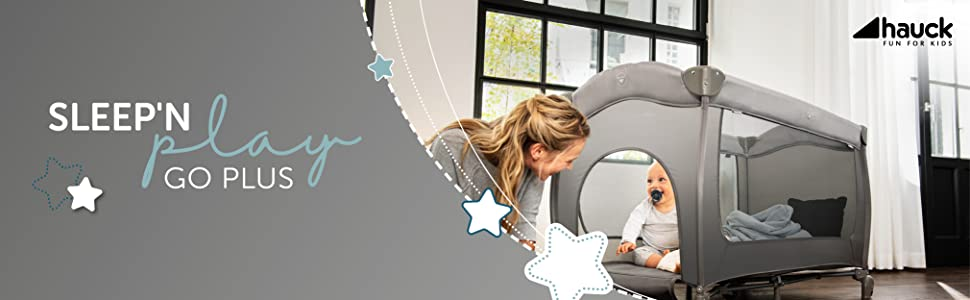 Hauck lit de voyage;lit parapluie;naissance;jusqu'à 15 kg;pliable;facile à plier;compact
