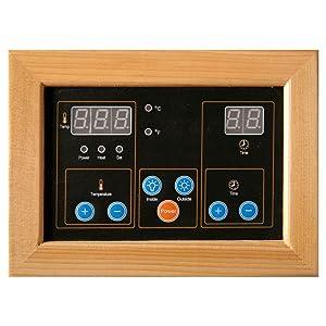 Infrared Sauna Control Panel