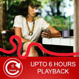Upto 6 Hours Playback