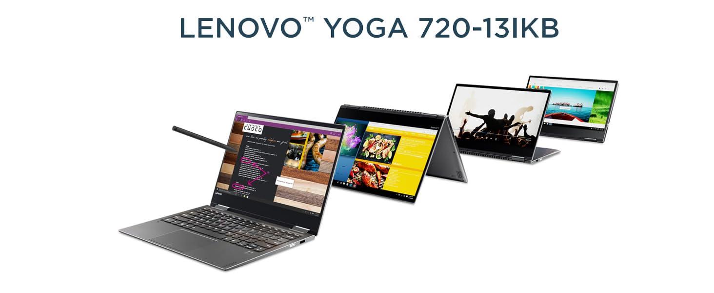 Lenovo Yoga 720-13IKBR - Ordenador portátil táctil convertible 13.3