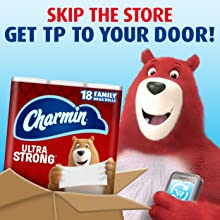 Subscribe and save on Charmin toilet paper.