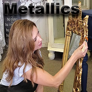 metallics,royal collection,chalk paint,pigments