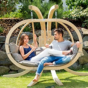 amazonas hängegestell globo royal chair