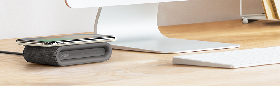wireless charging pad charger station