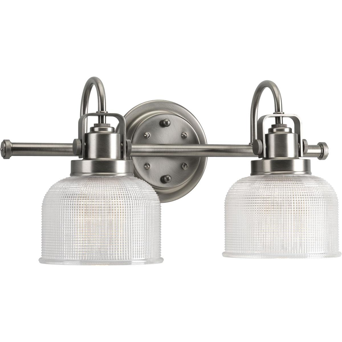 Amazon Bathroom Light Fixtures: Progress Lighting P2991-81 Archie Collection 2-Light