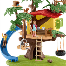 schleich, farm world, playset, treehouse, educational, figurine, gift for boys, gift for girls