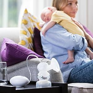 breast feeding, electric breast pump