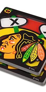 YouTheFan Blackhawks Logo Coaster