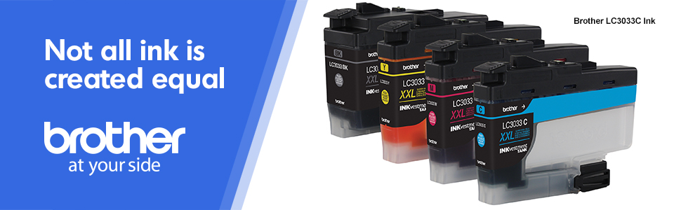 brother lc3033c, not all ink is created equal