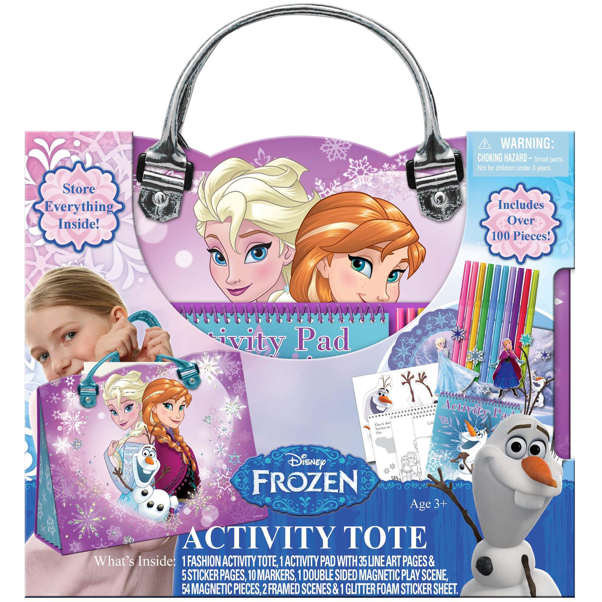 Amazon.com: Tara Toys Disney Frozen Creative Coloring, Sticker, and ...