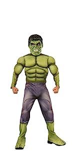 child's hulk costume