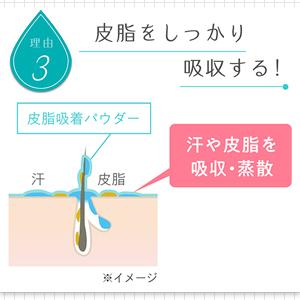 アセトメル スカルプ&ヘアパウダー 皮脂をしっかり吸収する
