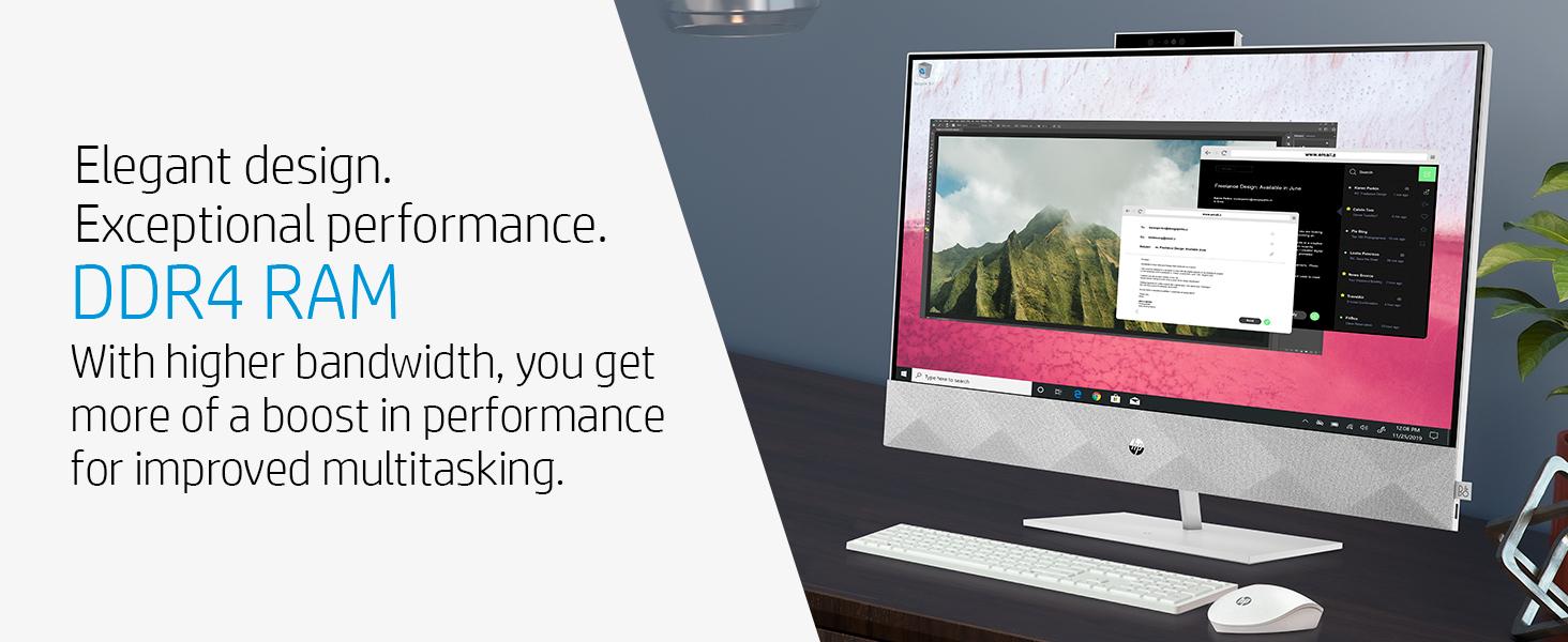 DDR4 RAM higher bandwidth performance multi-tasking