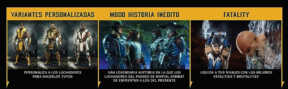 Mortal Kombat 11 - Standard Edition: Amazon.es: Videojuegos