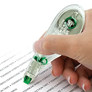 precise application correction tape, easy to use correction tape, best correction tape