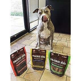 Amazon.com : Prairie Dog Pet Products Smokehouse Jerky, 15