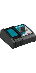 dc18rc charger battery voltage recharge teal single