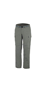 Marr/ón Columbia Silver Ridge II Pantalones de Senderismo Convertible Hombre Tusk W36//L32