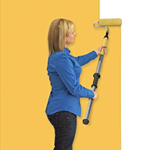 Wagner PaintStick EZ-Twist paint roller for home improvement projects. Holds paint in the handle