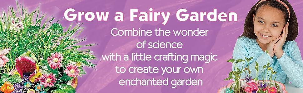 creativity for kids, fairy garden, garden kit for kids, gardening for kids, gifts for girls, girls