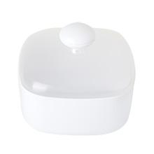 Vigar Taula Salero de Cocina Plástico Blanco 13.2x13.2x11.6 cm ...