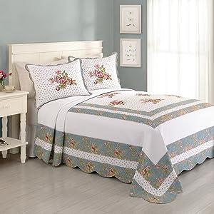 Peking Handicraft Modern Heirloom Bedspread