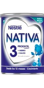 NESTLÉ NATIVA 3 - Leche de crecimiento en polvo - Fórmula ...