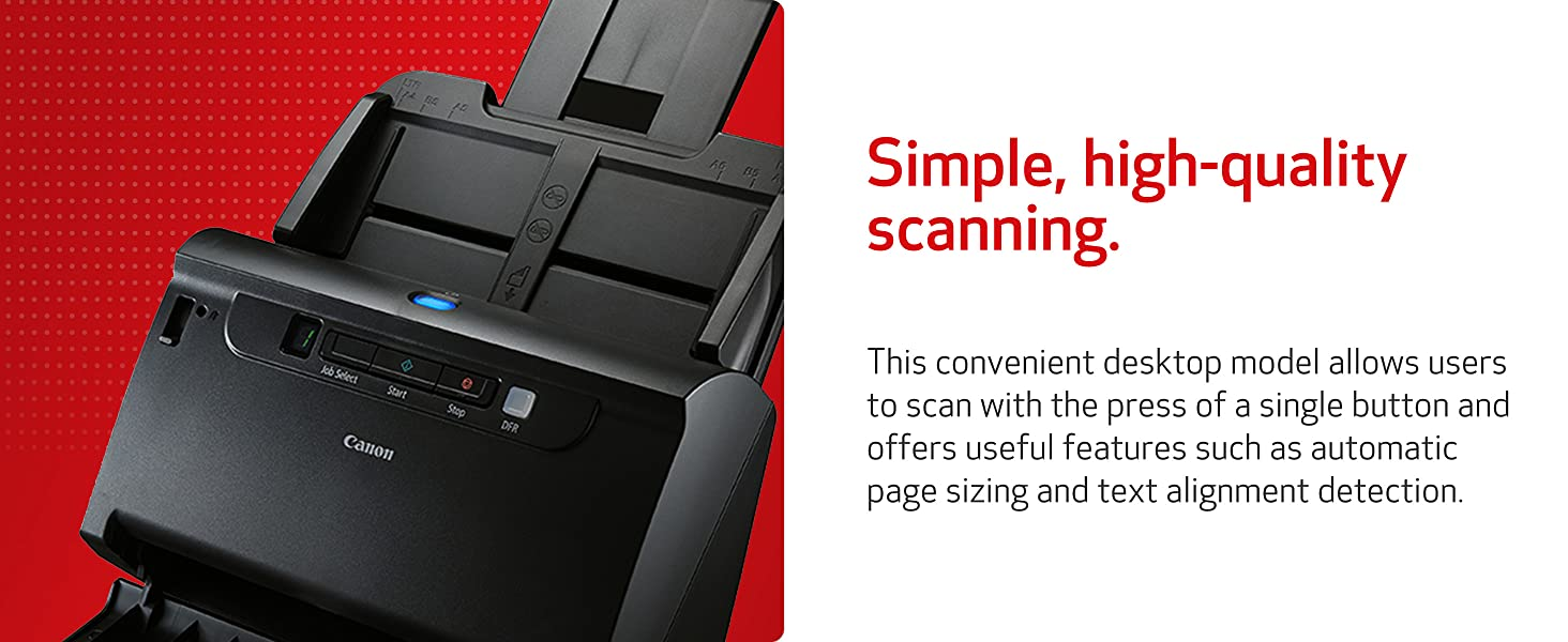 Simple, High-Quality Scanning.