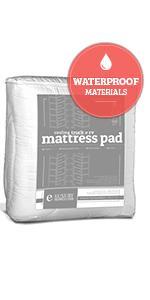 RV Waterproof Mattress Pad