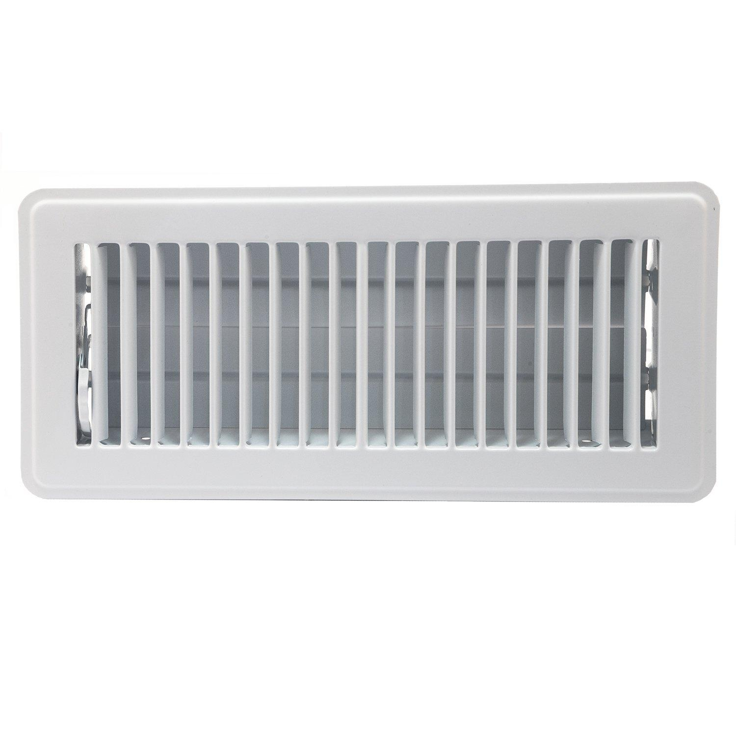 Accord abfrwh floor register with louvered design