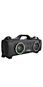 axess MPBT6508 portable boombox speaker