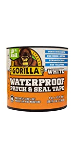 Gorilla Waterproof Patch and Seal Tape Black