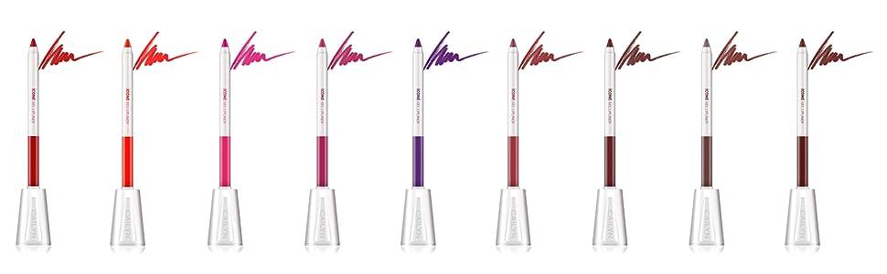 Cailyn iCone gel lipliner waterproof lip contour diverse shade