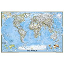 World Executive Wall Map (Laminated): Amazon.ca: National