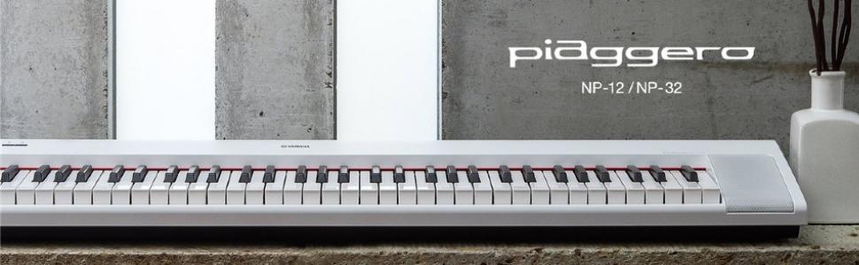 Yamaha digital piano NP12 NP32 piaggero
