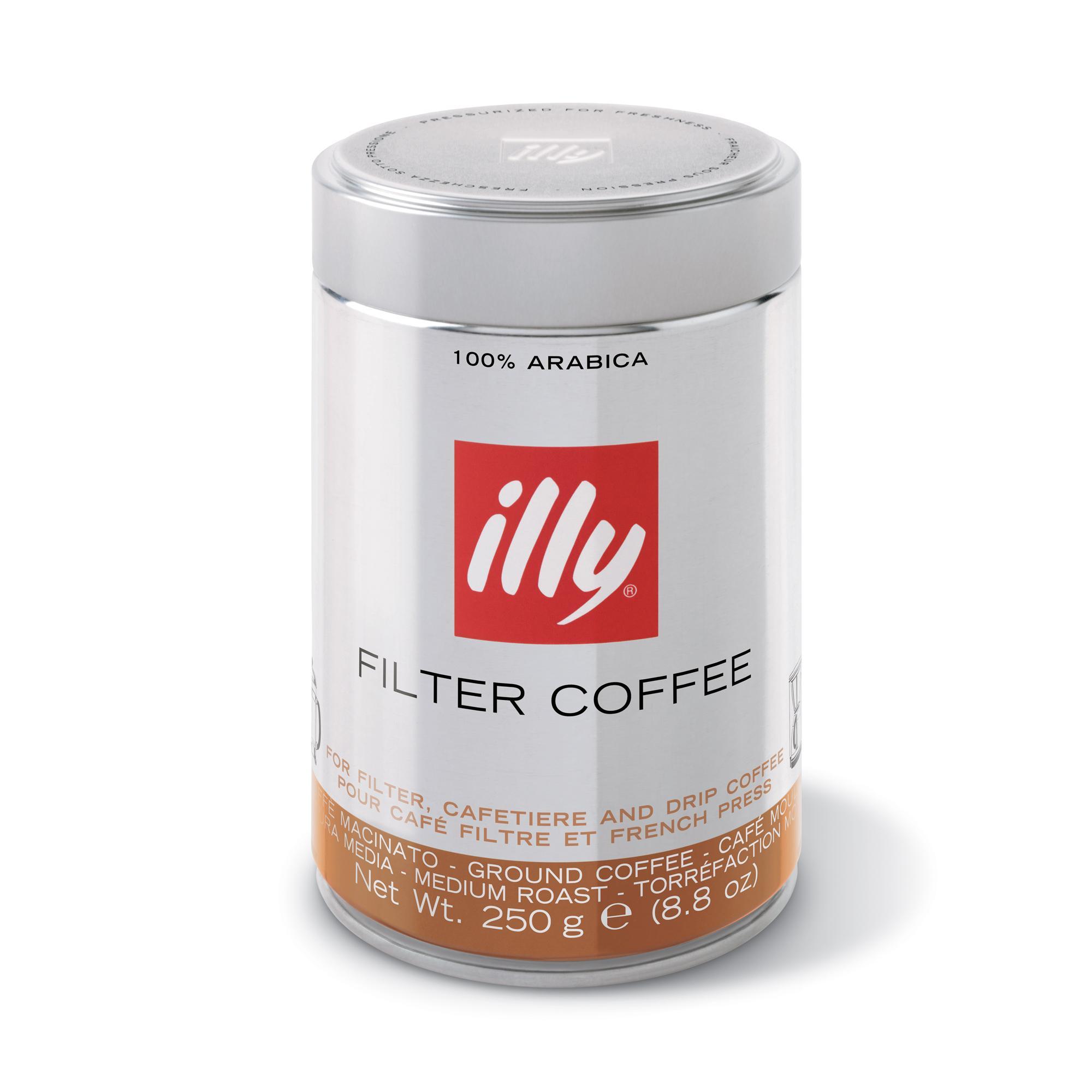 b02628fb0ab841 illy Caffè Filtro all'Americana Macinato Tostatura Media - 6 Pezzi ...