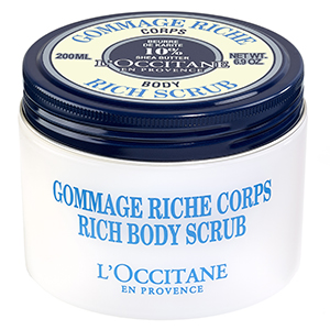 loccitane ultra rich body scrub