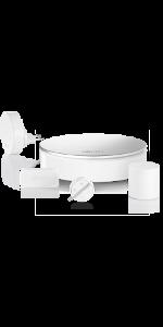 Sir/ène 85dB Somfy 1870289 D/étecteur de fum/ée connect/é Compatible alarmes et cam/éras Somfy Protect