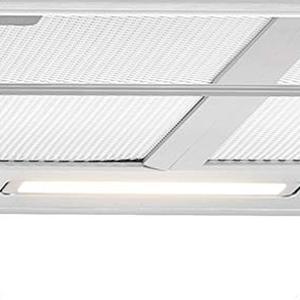 Bomann DU 623.3 Campana extractora 60cm, recirculación de Aire o por conducto, 3 Niveles Potencia, filtros extraibles de Aluminio Lavables, Acero Inoxidable: Amazon.es: Grandes electrodomésticos
