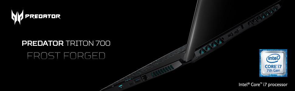 "Acer Predator Triton 700/ PT715-51-732Q Ultra-Thin/ i7/ 7th Gen/ 32GB/ 8GB/ 15.6"" Gaming Laptop"