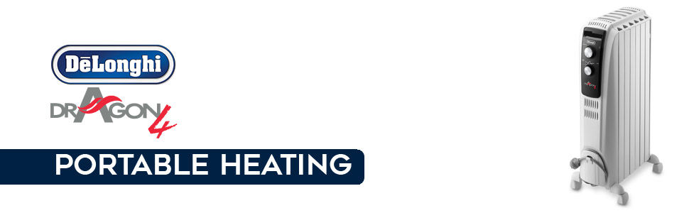 portable heaters; oil heaters; TRD41500MT; delonghi heaters