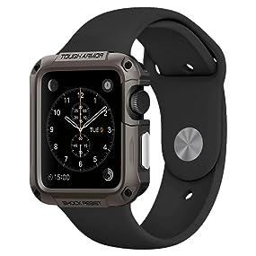 Amazon.com: Spigen Tough Armor Apple Watch Series 1 Case ...