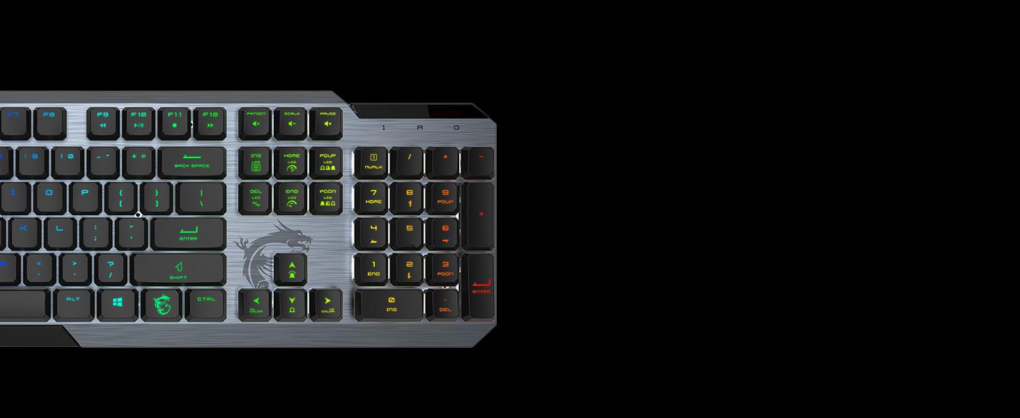 Show your colors per key