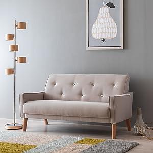 カリモク,カリモク家具,ソファ,椅子,二人掛け,21ソファ,ノバリエ,北欧,女性,ペット