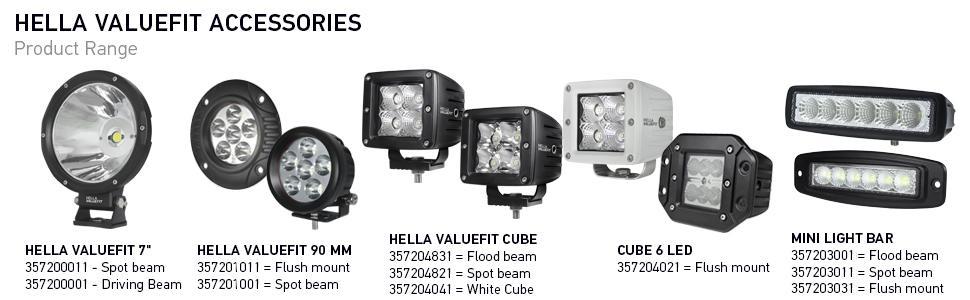 C5 vorne HELLA 2PG 357 012-021 HELLA 2PG 357 012-021 Positionsleuchte VALUEFIT