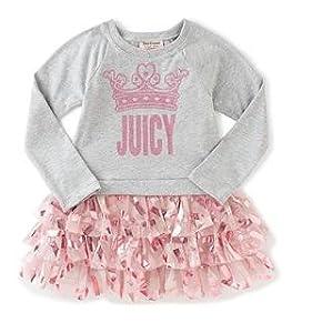 ae73a97de Amazon.com: Juicy Couture Girls' Dress: Clothing