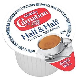 carnation half and half coffee creamer