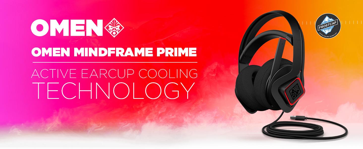 אוזניות גיימינג Omen MindFrame Prime