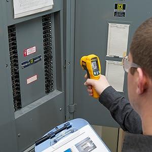 Fluke Infrarot Thermometer Fl62maxplus Farbe Size Gewerbe Industrie Wissenschaft